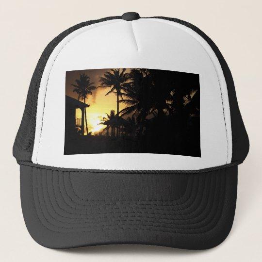 Caribbean Sunset Trucker Hat