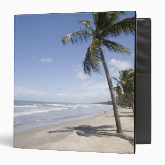 Caribbean - Trinidad - Manzanilla Beach on 2 Vinyl Binders
