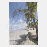 Caribbean - Trinidad - Manzanilla Beach on Hand Towels