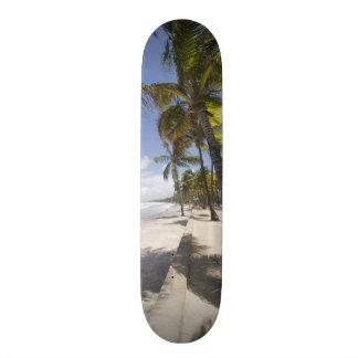 Caribbean - Trinidad - Manzanilla Beach on Skateboard