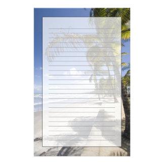Caribbean - Trinidad - Manzanilla Beach on Stationery