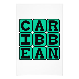 Caribbean, Tropical Islands Stationery