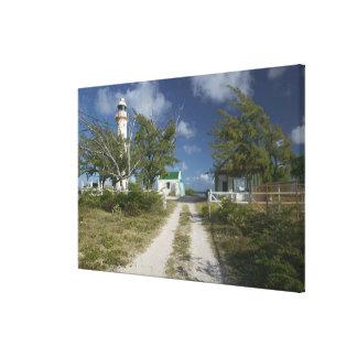 Caribbean, TURKS & CAICOS, Grand Turk Island, 3 Canvas Print