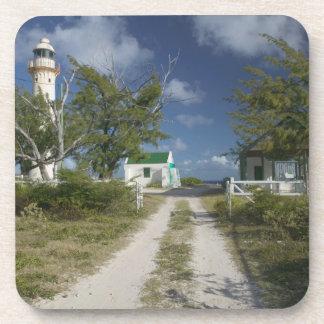 Caribbean TURKS CAICOS Grand Turk Island 3 Drink Coasters