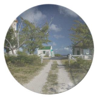 Caribbean, TURKS & CAICOS, Grand Turk Island, 3 Dinner Plates
