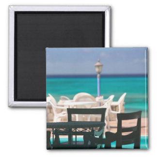 Caribbean, TURKS & CAICOS, Grand Turk Island, 2 Inch Square Magnet