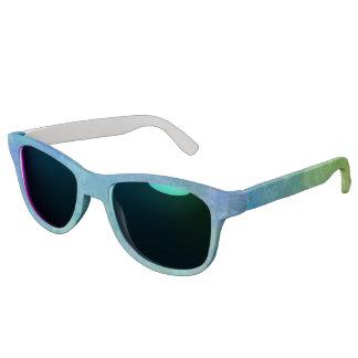 Caribbean Turquoise Blue Green Sunglasses