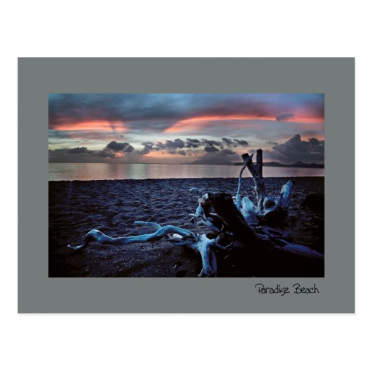 Caribbean Twilight Postcard