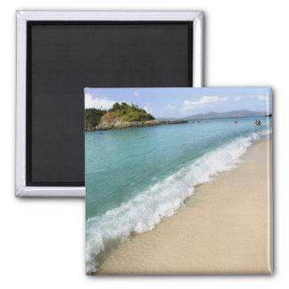 Caribbean, U.S. Virgin Islands, St. John, 2 Inch Square Magnet