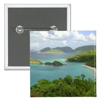 Caribbean, U.S. Virgin Islands, St. John, Trunk 2 Pinback Button