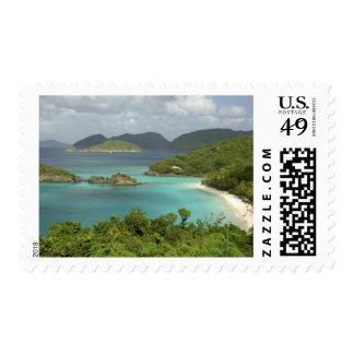 Caribbean, U.S. Virgin Islands, St. John, Trunk Postage