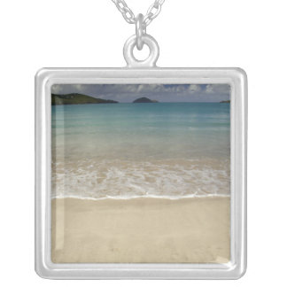 Caribbean, U.S. Virgin Islands, St.Thomas, 5 Silver Plated Necklace