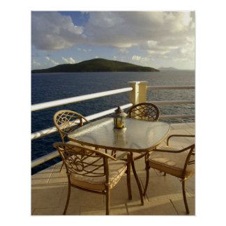 Caribbean, U.S. Virgin Islands, St. Thomas. View Poster