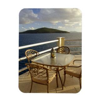 Caribbean, U.S. Virgin Islands, St. Thomas. View Rectangular Photo Magnet