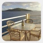 Caribbean, U.S. Virgin Islands, St. Thomas. View Sticker