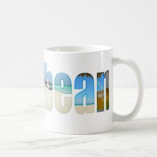 Caribbean vacation coffee mug