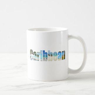 Caribbean vacation mugs