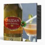 Caribbean, Virgin Islands. Cruzan Estate Dark Vinyl Binder