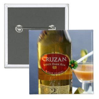 Caribbean Virgin Islands Cruzan Estate Dark Pin