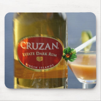 Caribbean, Virgin Islands. Cruzan Estate Dark Mouse Pad
