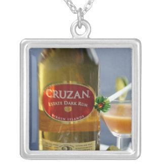 Caribbean Virgin Islands Cruzan Estate Dark Necklaces
