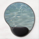 Caribbean Water Abstract Blue Nature Gel Mouse Pad