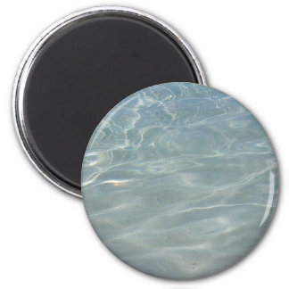Caribbean Water Abstract Blue Nature Magnet