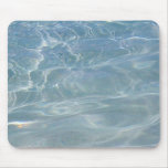 Caribbean Water Abstract Blue Nature Mouse Pad