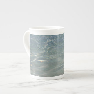 Caribbean Water Abstract Blue Nature Tea Cup