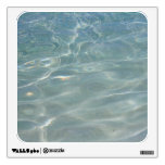 Caribbean Water Abstract Blue Nature Wall Sticker