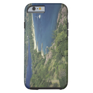 Caribbean, West Indies, St. Lucia. View of Tough iPhone 6 Case