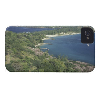Caribbean, West Indies, St. Lucia. View of Case-Mate iPhone 4 Case