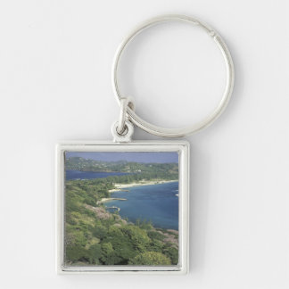 Caribbean, West Indies, St. Lucia. View of Keychains