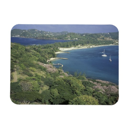 Caribbean, West Indies, St. Lucia. View of Magnet