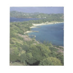 Caribbean, West Indies, St. Lucia. View of Note Pad