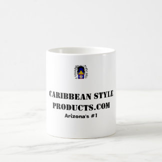 CaribbeanStyleProducts Arizona's #1 Classic White Coffee Mug