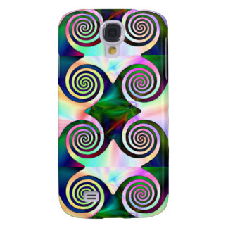 Caribean Swirl Samsung Galaxy S4 Cases