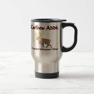 Caribou Addict 15 Oz Stainless Steel Travel Mug