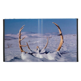 Caribou Antlers in The Snow iPad Cases