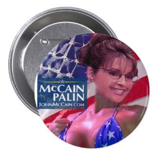 Caribou Barbi - Sarah Palin Pinback Button