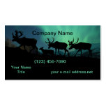 Caribou Double-Sided Standard Business Cards (Pack Of 100)