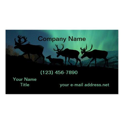 Caribou Business Card