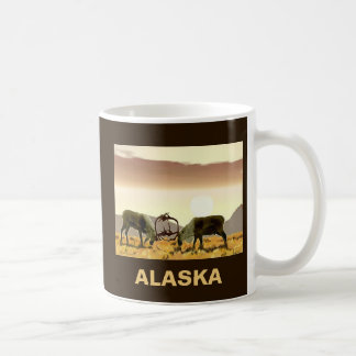 Caribou Duel - Alaska Coffee Mug