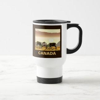 Caribou Duel - Canada Mug