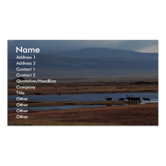 Caribou Herd Business Card