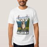 Caribou in the Wild - Dawson, Alaska Tee Shirt
