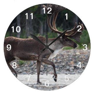 caribou large clock