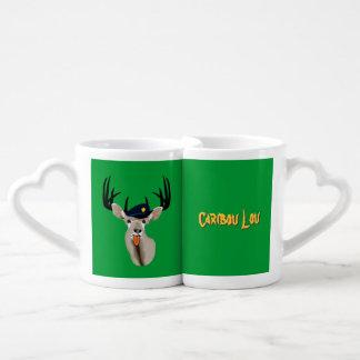 Caribou Lou Drink Recipe Coffee Mug Set