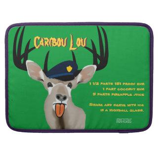 Caribou Lou Drink Recipe MacBook Pro Sleeve