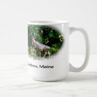 Caribou, Maine - Bronze Caribou Classic White Coffee Mug